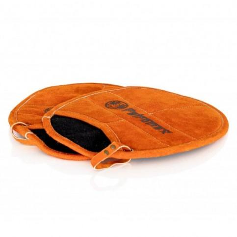 Kožené chňapky s kapsou Petromax Aramid Pro