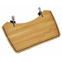 Bambusový postranní stolek pro kotlové grily Outdoorchef 48 cm