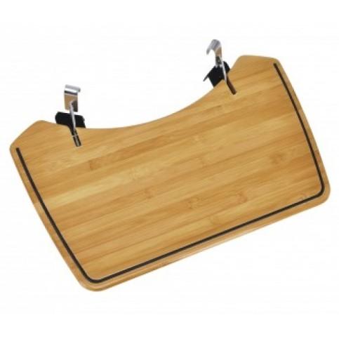 Bambusový postranní stolek pro kotlové grily Outdoorchef 57 cm