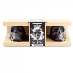 Brikety z dřevěného uhlí LEBKA - dárkový box