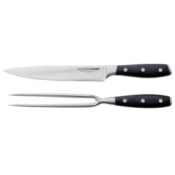 Prémiová sada nože a vidličky Outdoorchef
