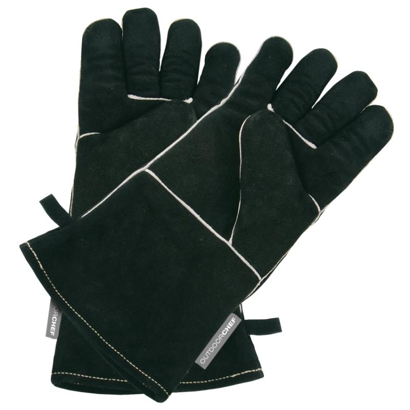 Levně Kožené grilovací rukavice Outdoorchef