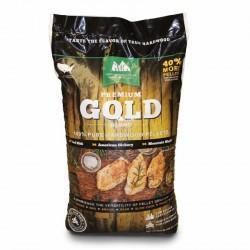 Dřevěné pelety Premium Gold 12,7 kg GMG