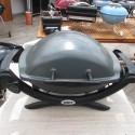 Elektrický gril Weber Q 1400, tmavě šedý II. jakost