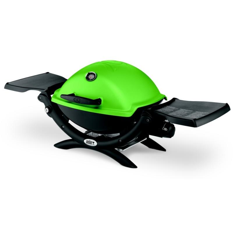 Plynový gril Weber Q 1200, zelený