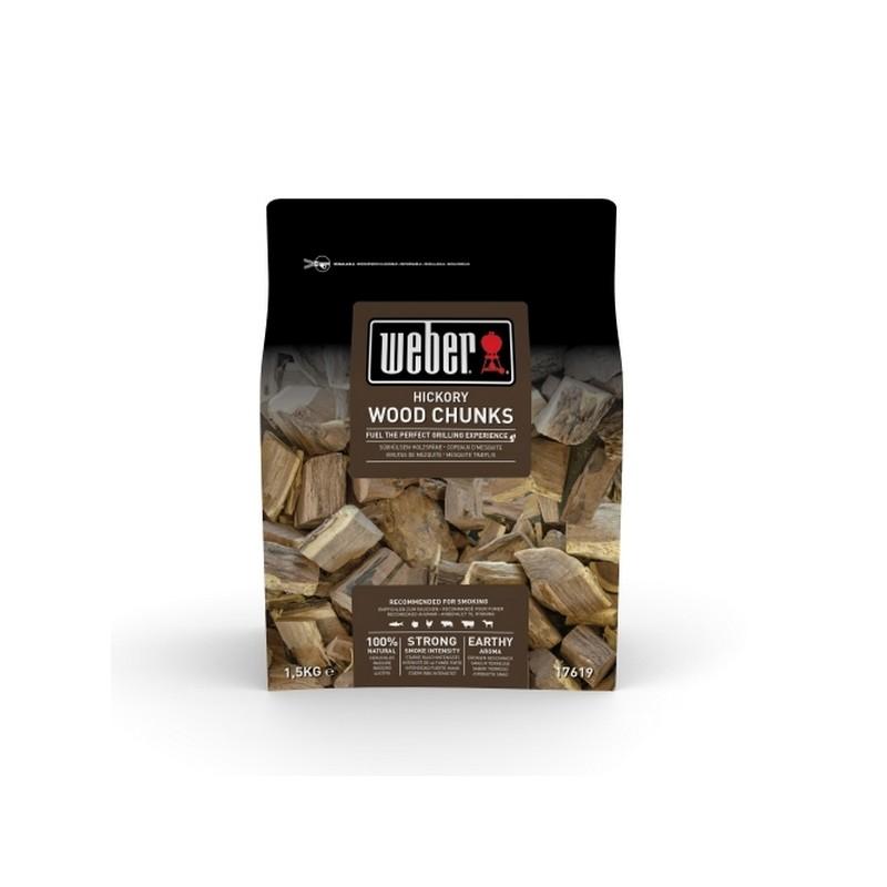 Dřevěné špalíky na uzení, bílý ořech Weber