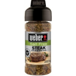 Koření Weber Steak Salt Free 71 g