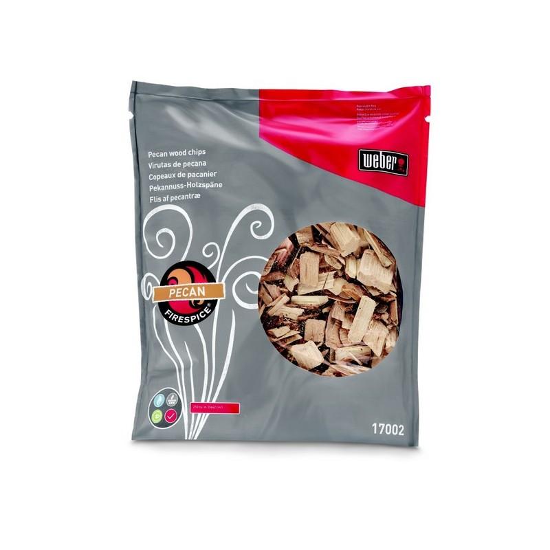 Udící lupínky Fire Spice Chips, pekanový ořech Weber