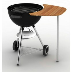 Weber bambusový postranní stolek pro kotlové grily 47 a 57 cm