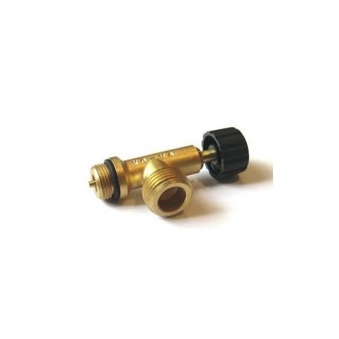 Odtlačný ventil pro připojení k 2kg PB bombě