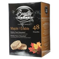 Udící brikety Bradley Smoker Javor 48 ks