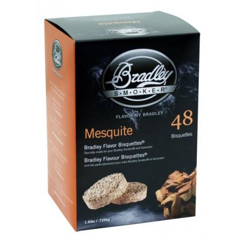 Udící brikety Bradley Smoker Mesquite 48 ks