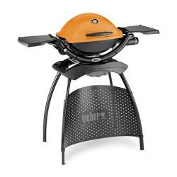 Plynový gril Weber Q 1200 Stand, oranžový