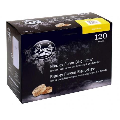 Udící brikety Bradley Smoker Olše 120 ks