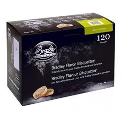 Udící brikety Bradley Smoker Jabloň 120 ks