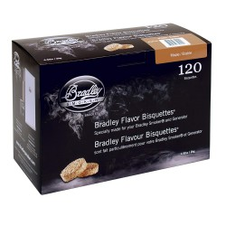 Udící brikety Bradley Smoker Javor 120 ks