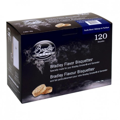 Udící brikety Bradley Smoker Pacific 120 ks