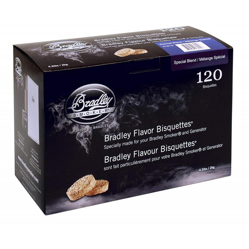 Udící brikety Bradley Smoker Special 120 ks
