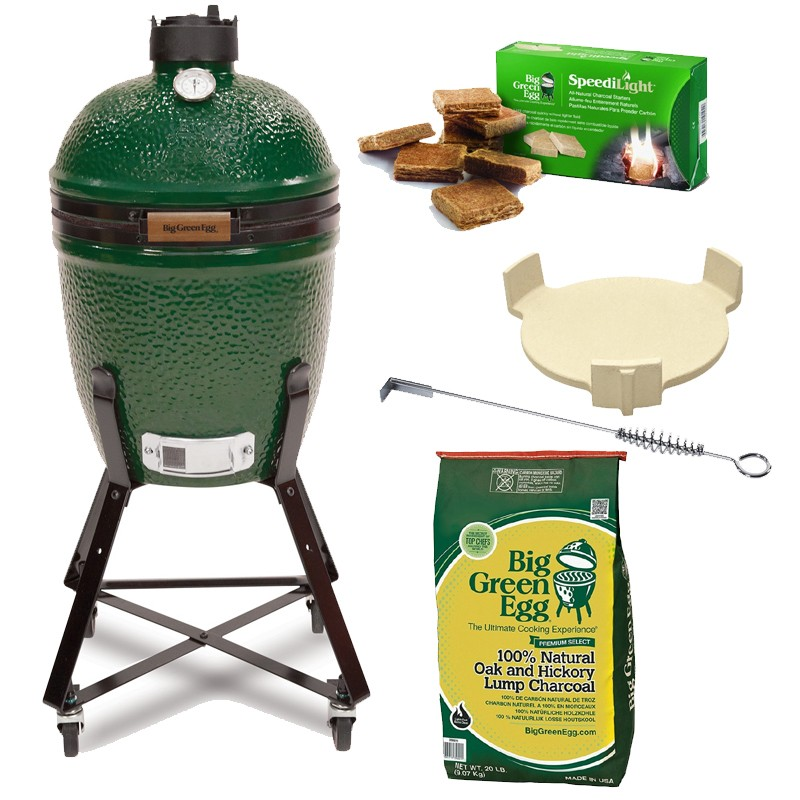 "Gril Big Green Egg Small ""Easy Start"""