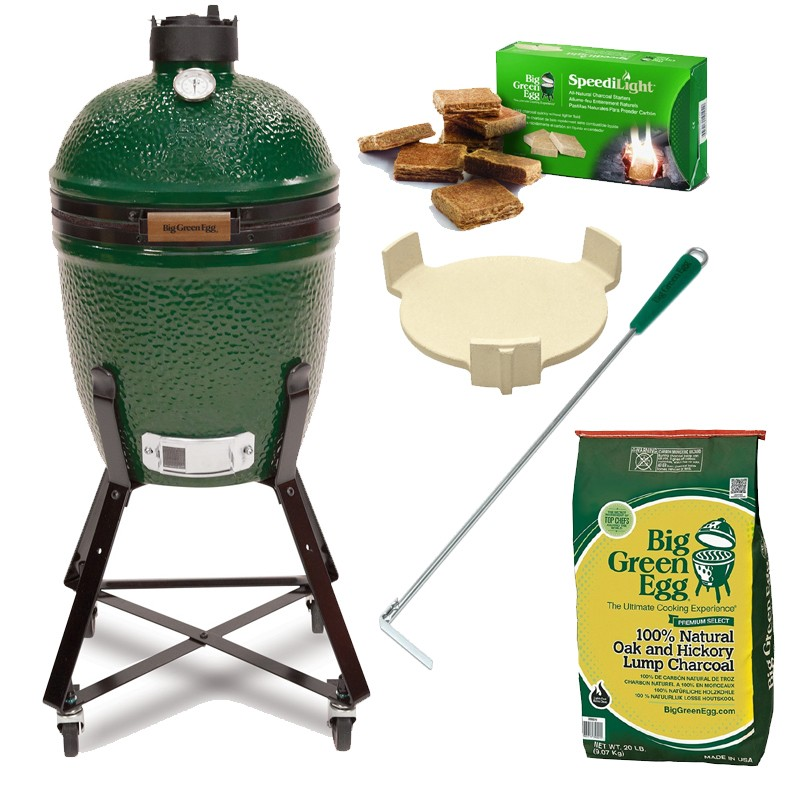 "Gril Big Green Egg Medium ""Easy Start"""