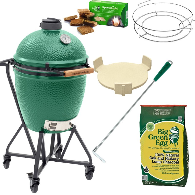 "Gril Big Green Egg Large ""Easy Start"""