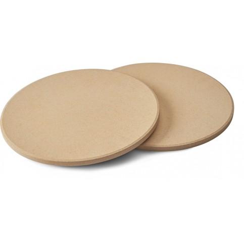 2 kulaté pizza kameny Napoleon Ø 25 cm
