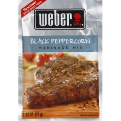 Marináda Weber Black Peppercorn