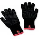 Sada grilovacích rukavic Premium - velikost S/M, černé, žáruvzdorné
