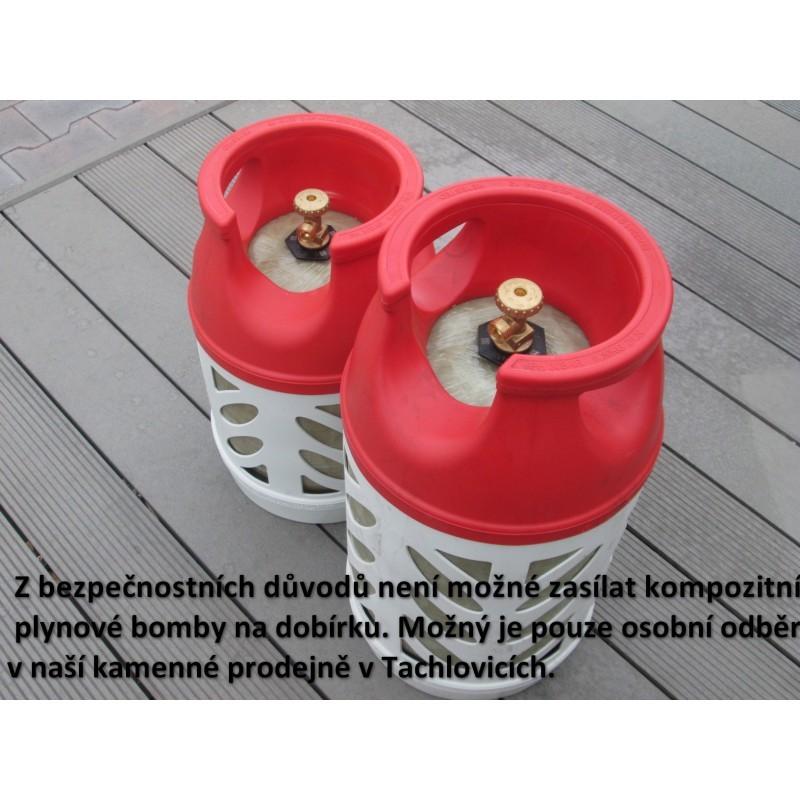 Kompozitní plynová bomba, 5 kg Weber