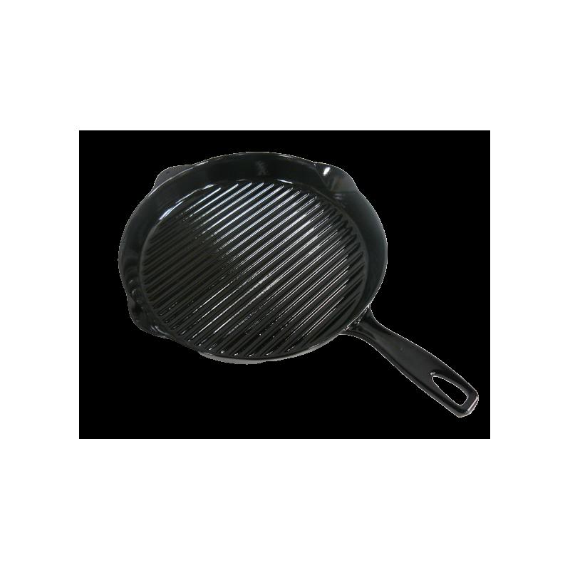 Černá litinová pánev Ø 30 cm neznamý