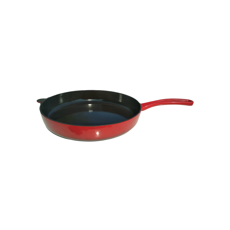 Červená litinová pánev Ø 24 cm