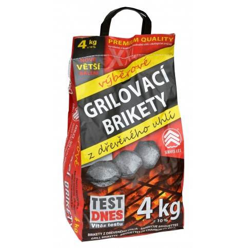 Servis Les Grilovací brikety 4kg
