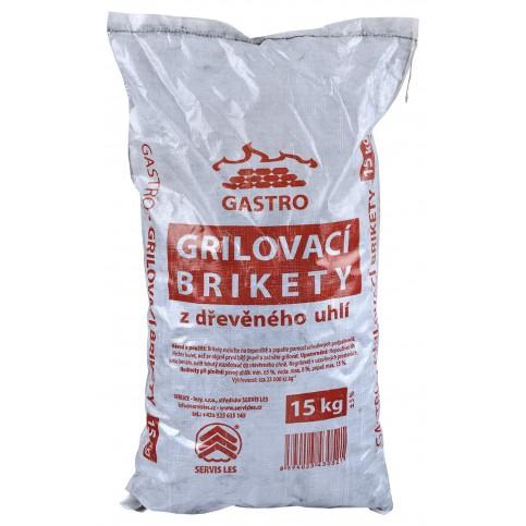 Servis Les Grilovací brikety 15kg GASTRO