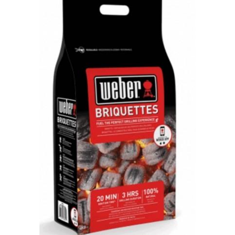 Weber brikety, 4 kg