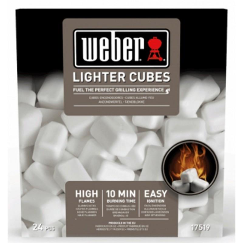 Podpalovací kostky, 24 ks Weber