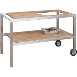 Teakový stůl pro keramický gril Monolith Classic