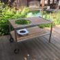 Teakový stůl pro keramický gril Monolith Le Chef