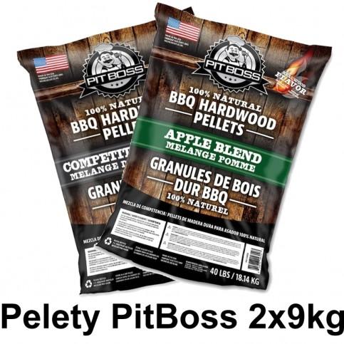 Dřevěné pelety Pit Boss 2x 9kg