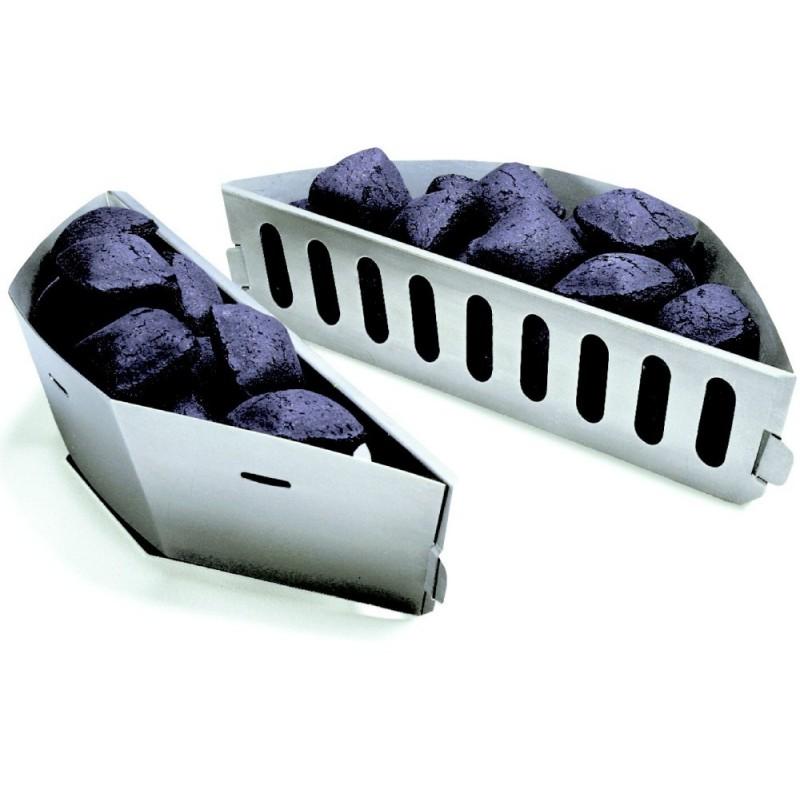 Palivové nádoby pro grily na dřevěné uhlí Weber