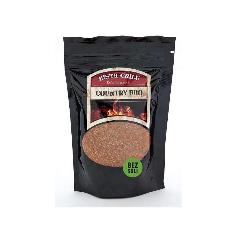 Grilovací koření BEZ SOLI Country BBQ 100 g Mistr grilu