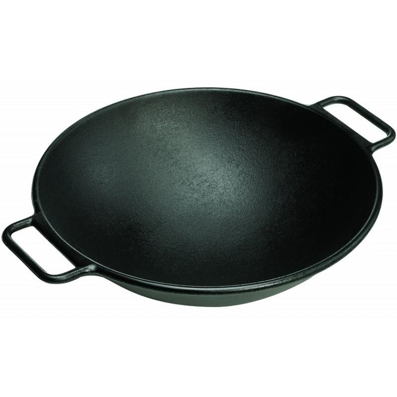 Litinová wok pánev Lodge 35 cm