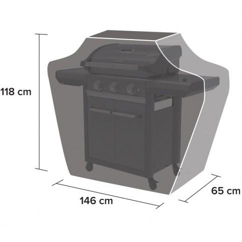 Ochranný obal na gril BBQ Classic L (3 Series)