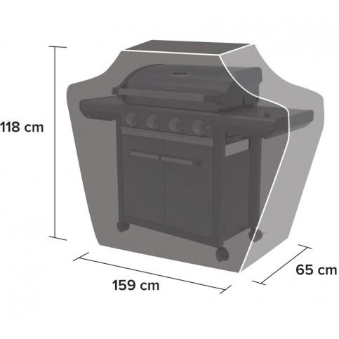 Ochranný obal na gril BBQ Classic XL (4 Series)