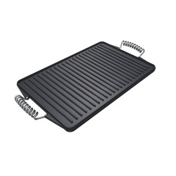 Premium Barbecue Reversible Cast Iron Griddle