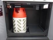 Velká kompozitní bomba se vejde i do Campingaz Master 3 Series Woody