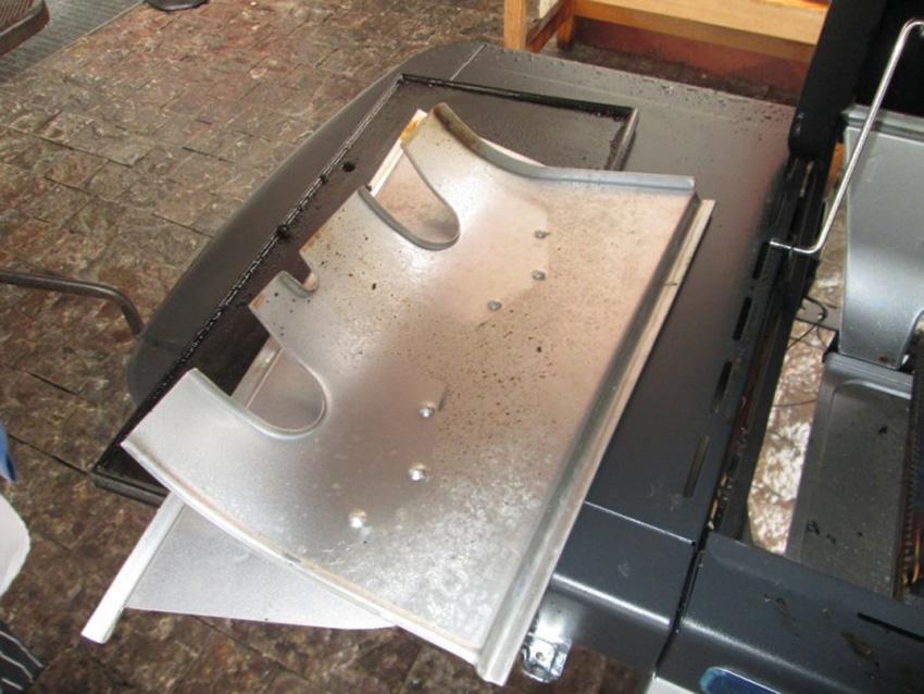 Rozkládací grilovací vana