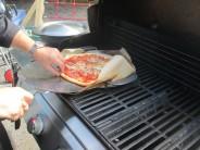 Lopatka na pizzu v akci