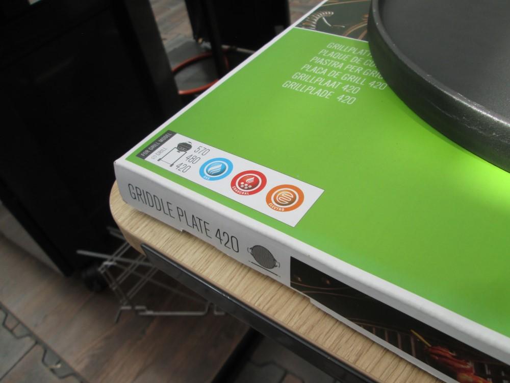 litinová grilovací deska outdoorchef