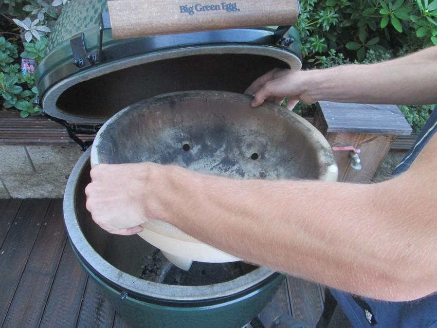 Jak vyčistit gril Big Green Egg