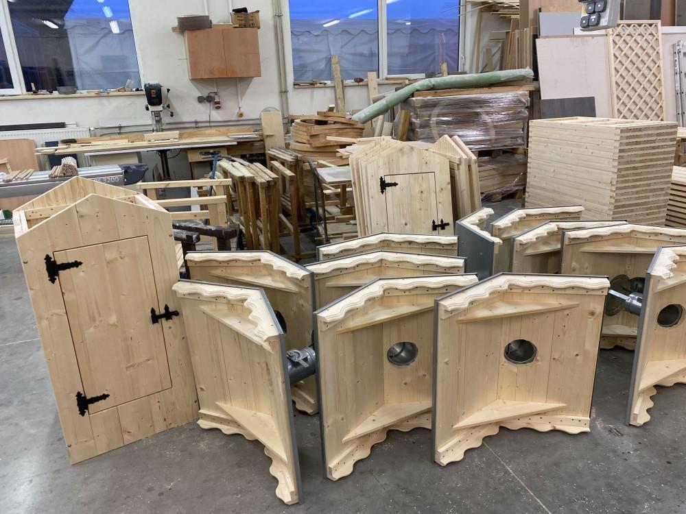 výroba dřevěných udíren Master Smoker